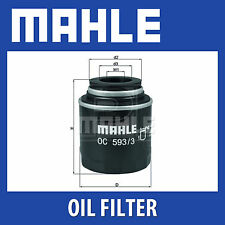 MAHLE Oil Filter - OC593/3 (OC 593/3)  - Genuine Part
