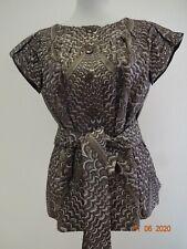 ** ESCADA ** Luxus Blusen-Blazer Business Animal Seide Seta DT36 NEUmE Couture