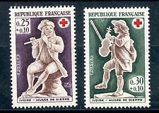 STAMP / TIMBRE FRANCE NEUF LUXE ** N° 1540/1541 ** CROIX ROUGE VIOLONEUX