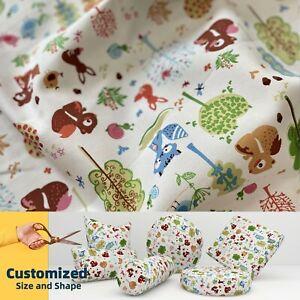 LL002 Kid Cartoon  Cotton Canvas Cushion Cover Bolster Pillow Case*TAILOR MADE*