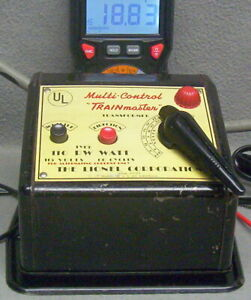 LIONEL TYPE #RW-110 WATT TRANSFORMER-UPDATED-CLEANED-SERVICED-W/WHISTLE EX++COND
