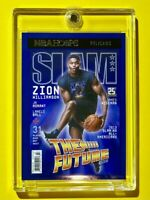 Zion Williamson SLAM SPECIAL INSERT NBA HOOPS THE FUTURE: RISING FAST - Mint!