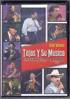 """*DVD-Tejas y Su Musica-""""Canciones de Amor"""" En Vivo/Live-Tejano TexMex-DVD SEALED"""
