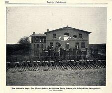 Vom  Lockstedter Lager: Zielobjekt Meierei Ridders Historische Aufnahme von 1901