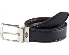 Dickies Silverton Reversible Belt Mens Black Brown Leather Work BE102