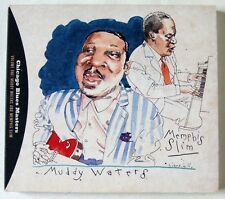 MUDDY WATERS & MEMPHIS SLIM / CHICAGO BLUES MASTERS / LIVE CARNEGIE HALL 1959