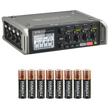Zoom F4 Multitrack Field Recorder w/8 Free AA Batteries & FREE US 2-DAY SHIPPING
