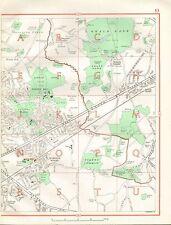 1964 VINTAGE Street Map-Harold Legno, Noak Hill, South Weald,