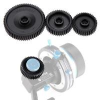 3Pcs Fotga 0.8mm 38T 43T 65T Pitch Gear Set for DP500IIS DP3000 Follow Focus