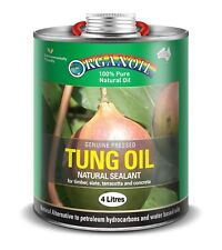 Organoil Tung Oil Decking & Wood Care Paint Painting