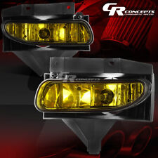 AMBER LENS DRIVING BUMPER FOG LIGHT LAMPS+BULB LH+RH FOR 99-04 FORD MUSTANG GT