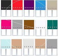 CHROME SQUARE EYELET EDGE ROLLER BLIND BLINDS WITH EASY FITTING TRIMABLE