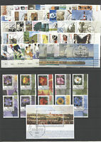Bund Jahrgang 2005 Eckrand gestempelt mit Vollstempel Berlin ETSST Ecke 4 BRD