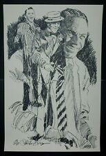 "Paul Blaine Henrie ""Sinatra"" Hand Signed Serigraph 239/300"