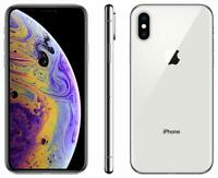Apple iPhone XS 64GB Fully Unlocked (GSM+CDMA) AT&T T-Mobile Verizon Silver
