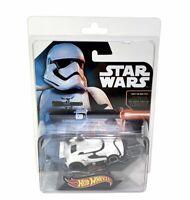 Hot Wheels Star Wars the Force Awakens SDCC 2015 Mattel Stormtrooper Car New