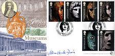 2003 BRITISH MUSEUM-Bradbury SOVRANO UFFICIALE-firmato da Adam Hart Davis