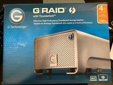 G-Technology 4TB G-RAID External Hard Drive Thunderbolt
