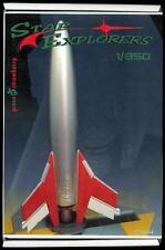 Green Strawberry Models 1/350 STAR EXPLORERS Retro Space Ship Resin & PE Kit