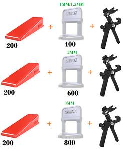 Tile Spacers 1.5mm, 2mm, 3mm, 4mm, 4mm & 1mm ALL SIZES GROUTING Leveller Tiling