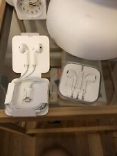 Apple Headphones - Two Pairs Unused