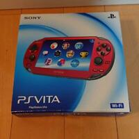 Sony PlayStation PS Vita Cosmic Red PCH-1000 ZA03 Game Console