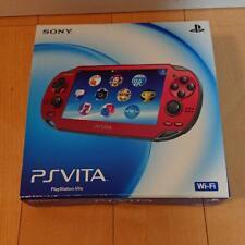 Sony PlayStation PS Vita Slim Cosmic Red Slim PCH-1000 ZA03 From Japan F/S
