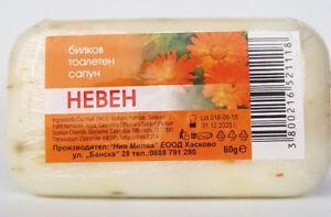 Calendula Marigold Herbal Soap Helps Acne Oily Blemish Irritated Face Skin