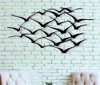 Cranes Metal Wall Art Wall Decor Home Interior Decoration Metal Bird Art Works