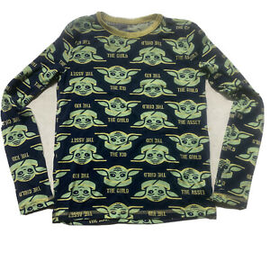 Mandolorian the Child Grogu children's shirt long sleeve Baby Yoda kids Medium