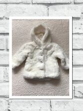 Baby Girls Clothes 6-9 Months - Cute Faux Fur Coat