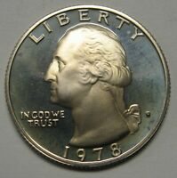 1978-S Proof Washington Clad Quarter Shipped FREE Best Price on Ebay Nice Coins!