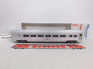CU585-0,5# Märklin H0/AC 43601 US-Personenwagen/Streamliner 2818 Santa Fe sg+OVP