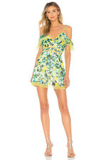 NEW REVOLVE HOUSE OF HARLOW 1960 DRESS DEVI FLORAL LACE GREEN SIZE L LARGE **Y
