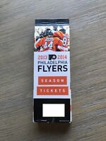 2013-14 Philadelphia Flyers NHL Official Mint Ticket Stubs - pick any game!
