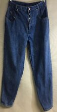 Women's Vintage Stefano Jeans Size 12 1980's/ 1990's. Button Front High Waist