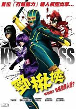 "Nicolas Cage ""Kick-Ass"" Johnson Aaron Japan Action HK Version Region 3 DVD"