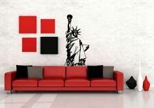 Wall Decor Vinyl Sticker Room Decal Art Tattoo Statue Of Liberty New York #667