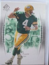 Brett Favre - 2003 sp Authentic #4 - Green Bay Packers playercard