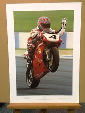 Ray Goldsbrough - Ruby Red (Print Only) #AP1/XXV co-signed by Carl Fogarty