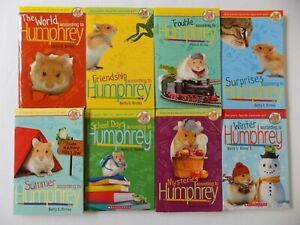 Lot 8 The World According to Humphrey Series Books by Betty G. Birney