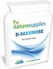 D-Mannose Tablets | Urinary Tract Health UTI Cystitis Support | Naturesupplies