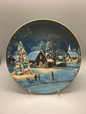 Oh Christmas Tree Plate When All Hearts Come Home Jesse Barnes Bradford Exchange
