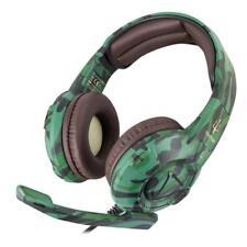 Atlantis Land Triton H747-c Stereofonico Padiglione Auricolare Mimetico Cuffia e