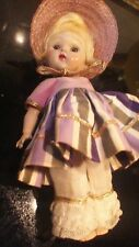 VINTAGE VOGUE GINNY STRUNG DOLL IN 1955 IN 1955 BRIDAL TROUSSEAU W/HAT
