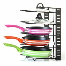 Kitchen Storage Racks Organizer Pot Pan Cookware Lid Pantry Rack Cutting Boards