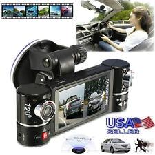 480P Dual Lens Car Camera Vehicle DVR Dash Cam Two Lens Video Recorder F600 US