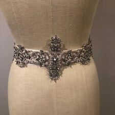 Swarovski handmade bridal tiara Sash