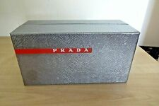 REDUCED! PRADA Silver Colour Empty Gift Box Storage Box  Birthday Display