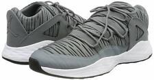 Nike Jordan Flight 45 High cuero hombre negro gris talla 45 zapatillas 616816010